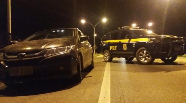 Os homens foram encaminhados à Delegacia de Polícia Judiciária local - Foto: Divulgação | PRF