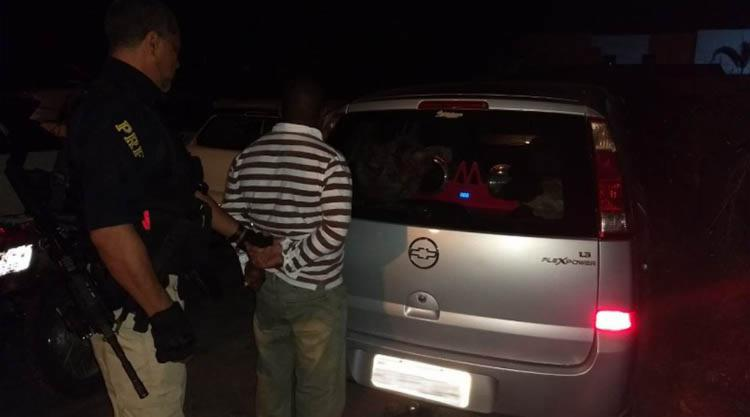 Um homem de 42 anos foi preso e acabou confessando o crime - Foto: Divulgação | PRF