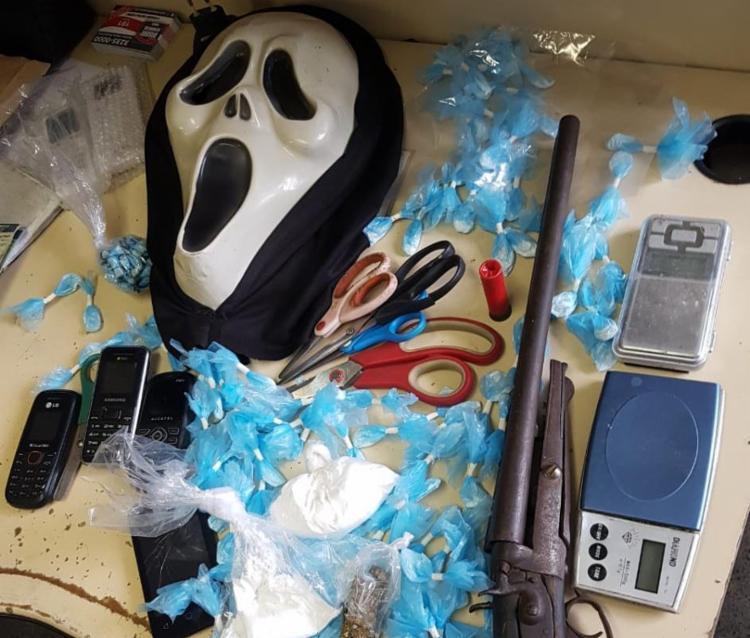 Materiais apreendidos foram encaminhados 4ª Delegacia Territorial, em São Caetano - Foto: Divulgação | SSP-BA