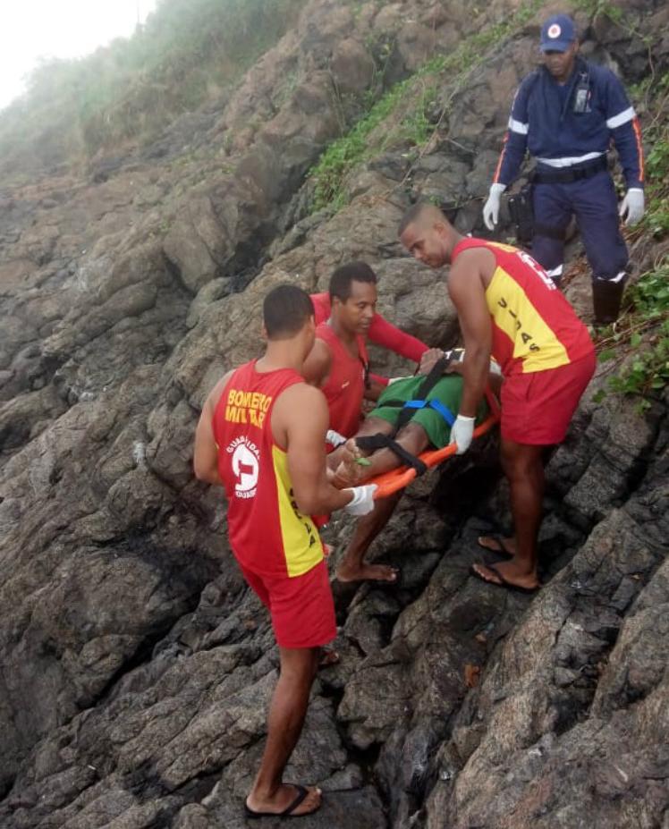 Homem teria caído da balaustrada do Forte São Diogo