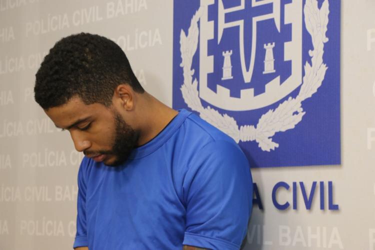 Gabriel é um dos suspeitos de participar do latrocínio envolvendo o assessor Michel Batista de Sá - Foto: Alberto Maraux | SSP-BA