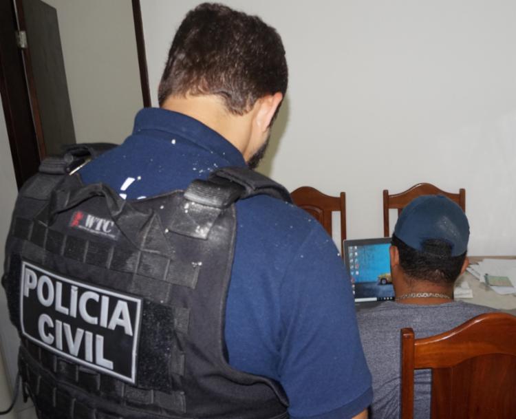 Mandados de busca e apreensão foram cumpridos em dois bairro da capiral - Foto: Ascom-PC