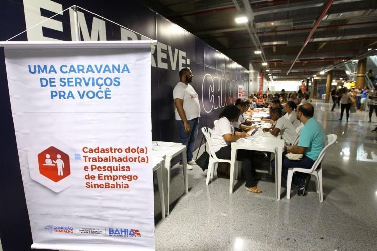 A caravana também oferece atividades de qualificação profissional para quem pretende voltar ao mercado de trabalho.