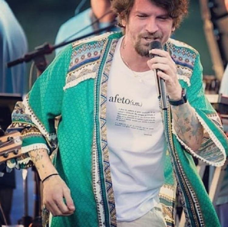 Durante a festa, o público também poderá comprar a camisa da 6ª edição da Lavagem de Corpo e Alma, no valor de R$20 - Foto: Reprodução | Instagram