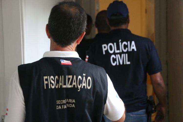 Ação reuniu agentes do MP-BA, Polícia Civil e Sefaz