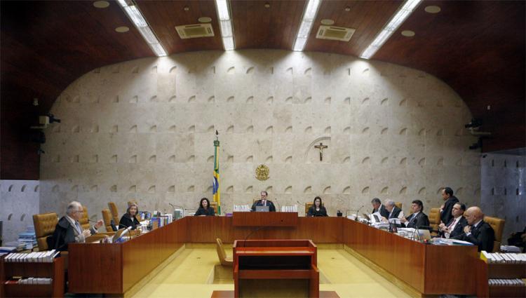 Decisão foi adiada por pedidos de vista dos ministros Toffoli e Fux - Foto: Rosinei Coutinho l SCO l STF