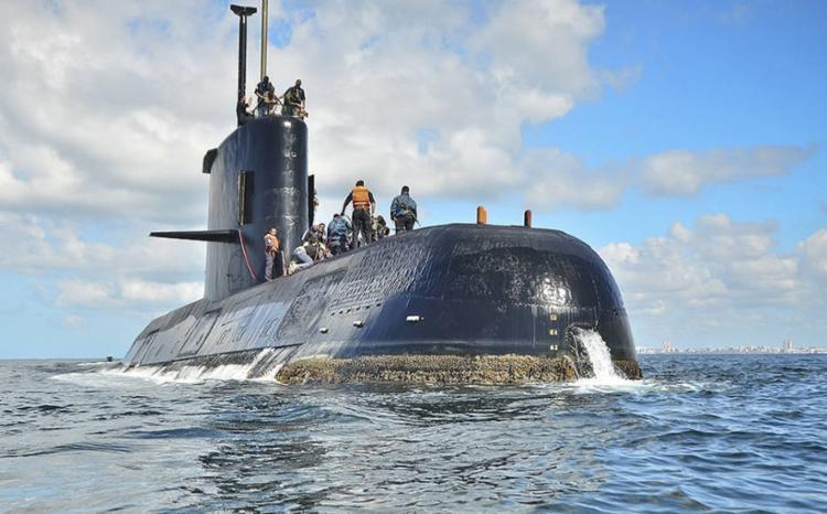 Marinha confirmou que embarcação foi detectada a 800 metros de profundidade na região da Patagônia - Foto: Divulgação l Marinha Argentina