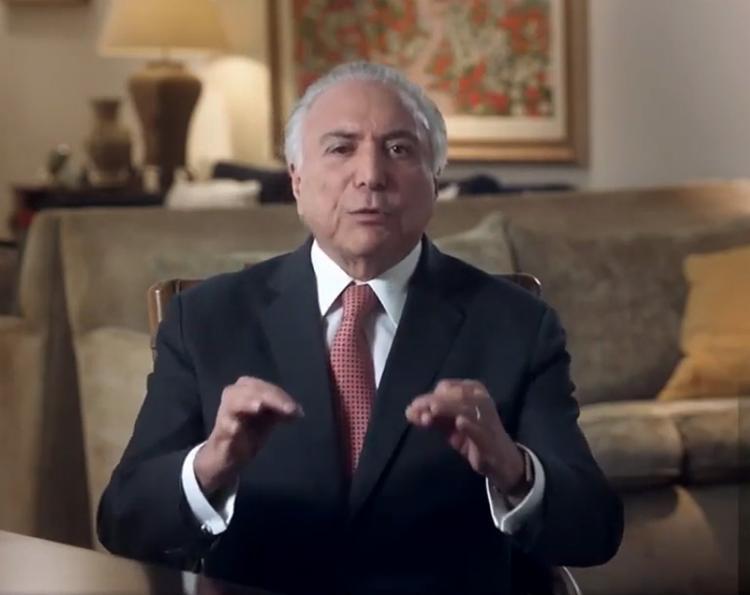 Presidente classificou de cordial a transição para futuro governo - Foto: Reprodução l YouTube