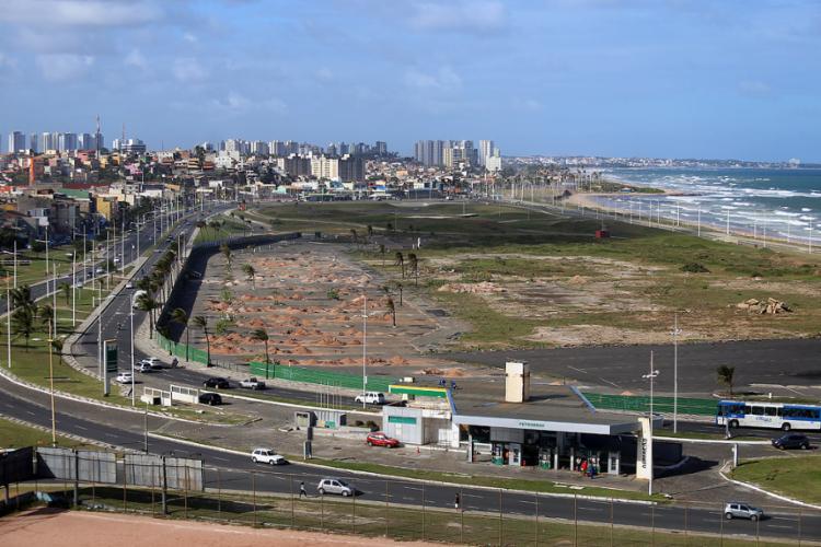 Na orla, o trecho entre o antigo Aeroclube e o retorno após o Sesc será interditado - Foto: Joá Souza l Ag. A TARDE