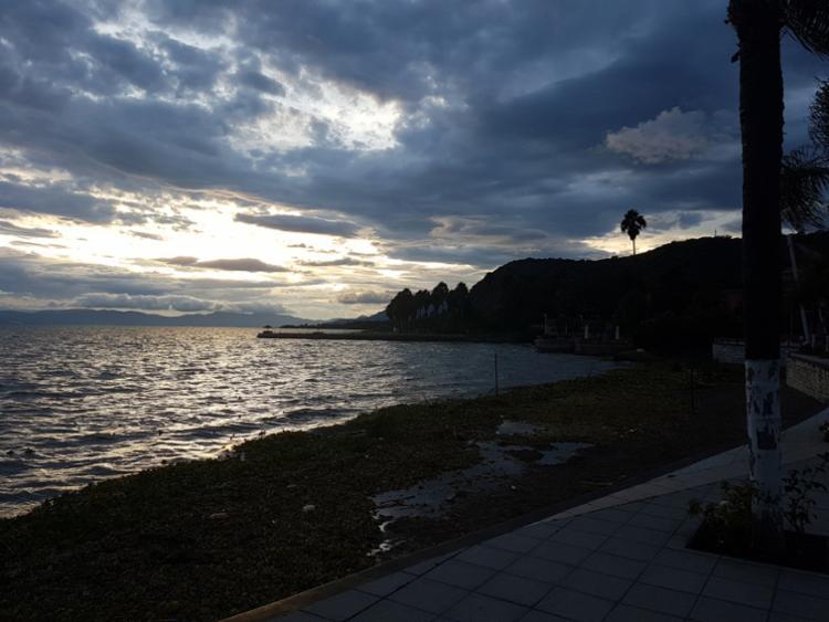 Lago Chapala é o maior lago de água doce mexicano - Foto: Carlos Morais