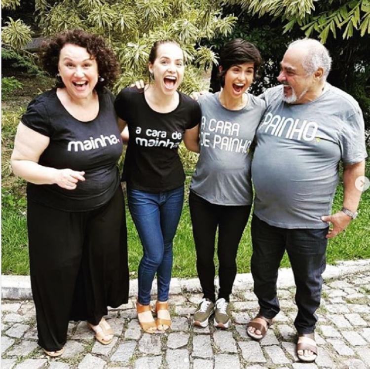 A atriz Nanda Costa publicou um texto homenageando os artistas que interpretaram a família de sua personagem - Foto: Reprodução   Instagram