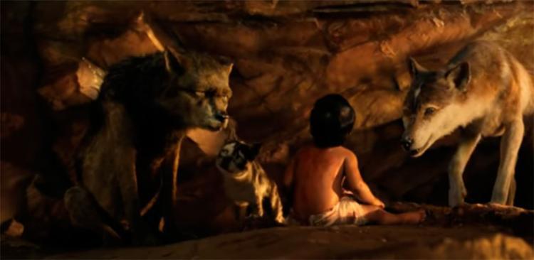 Na história, um garoto é adotado por um grupo de lobos quando era ainda bebê - Foto: Reprodução | Netflix