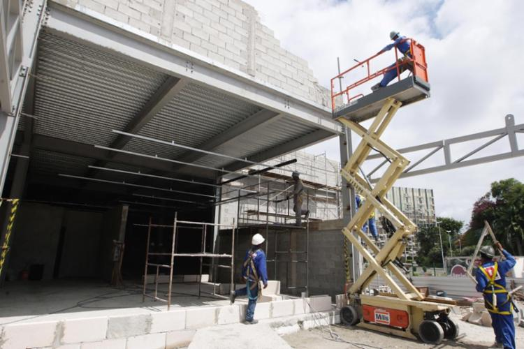 Nova unidade Detran-SAC está sendo construído no Shopping da Bahia - Foto: Carol Garcia | GOVBA | Divulgação