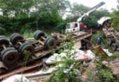 Motorista morre após tombar caminhão em uma ribanceira | Foto: Divulgação | Acorda Cidade