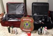 Mulheres são presas no aeroporto de Salvador com 25 kg de cocaína | Foto: Divulgação | PF