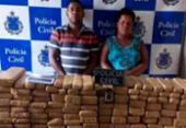 Casal é preso com quase 130 kg de maconha no sul do estado | Foto: Reprodução | Blog do Fábio Roberto Notícias