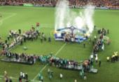 Atlético-PR bate o Junior Barranquilla nos pênaltis e conquista a Sul-Americana | Foto: Reprodução l Twitter | atleticopr