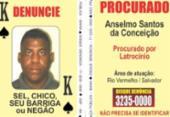 SSP atualiza Baralho do Crime com homicida de professor no Rio Vermelho | Foto: Divulgação | SSP-BA