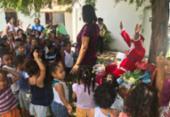 Creches de Vila de Abrantes recebem presentes de Papai Noel em ação solidária | Foto: Divulgação | SSP-BA