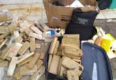 Mais de 200 quilos de drogas são incinerados em Eunápolis | Foto: Divulgação | SSP-BA