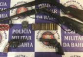 Suspeito de tráfico de drogas e homicídio é morto em ação da PM | Foto: Divulgação SSP-BA