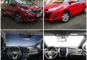 Honda Fit x Toyota Yaris: Duelo com motor 1.5 | Foto: MOTOR, AUTOS, CARROS, HONDA, TOYOTA