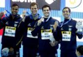 Com Cielo, Brasil é bronze no 4x100 metros livre no Mundial de Piscina Curta | Foto: Satiro Sodré | SSPress | CBDA