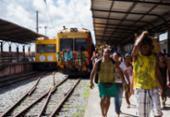 Funcionamento dos trens no subúrbio é suspenso até segunda | Foto: Daniele Rodrigues | Sedur