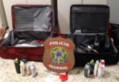 Suspeitas são presas no aeroporto de Salvador com cocaína | Divulgação | PF
