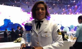 Pela quinta vez, Ana Marcela Cunha é eleita melhor do mundo em águas abertas - Divulgação/FINA