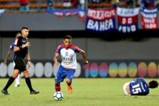 Bahia tem interesse na permanência de Luiz Henrique, mas Náutico só libera em definitivo - Felipe Oliveira/EC Bahia/Divulgação