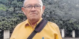 José Teixeira, do bairro da Palestina, tem 76 anos e uma linda história de vida - Catarina Alcântara/Ag. A Tarde