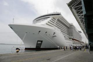 A chegada do navio faz parte da temporada dos transatlânticos que começou em outubro e segue até abril de 2019 - Gilberto Junior l Ag. A TARDE