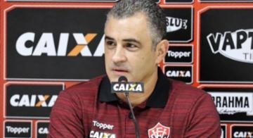 Marcelo Chamusca já está em casa na Toca do Leão - Maurícia da Matta/EC Vitória/Divulgação