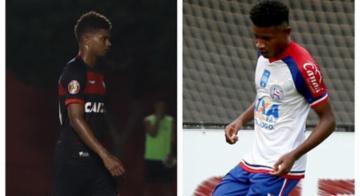 Revelações da dupla Ba-Vi são convocados para a Seleção sub-20 - Mauricia da Matta | EC Vitória e Felipe Oliveira | EC Bahia