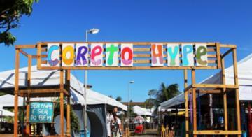 A economia popular foi fortalecida nas praça do bairro de Stella Maris com o Coreto Hype, que existe desde 2016 - Divulgação