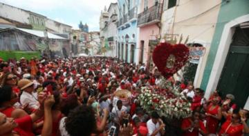 A mistura de credos é a principal característica da festa de Santa Bárbara - Raul Spinassé | Ag. A Tarde