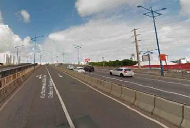 Trânsito fica intenso na avenida Heitor Dias após carro pegar fogo | Reprodução | Google Maps
