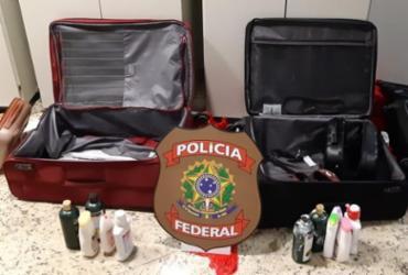 Mulheres são presas no aeroporto de Salvador com 25 kg de cocaína | Divulgação | PF
