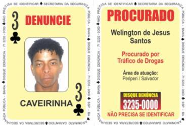 Três de paus do 'Baralho do Crime' se entrega à polícia | Divulgação | SSP/BA