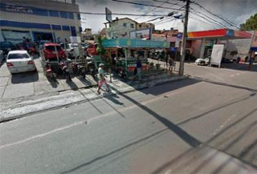 Motociclista fica ferido após colisão na Dorival Caymmi | Reprodução | Google Maps