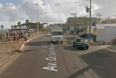 """Redução de velocidade na orla provoca """"grita""""   Google Street View"""