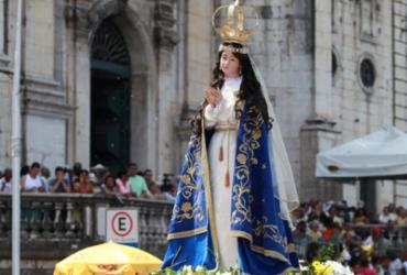Fiéis homenageiam a padroeira da Bahia com missas e festa neste sábado | Adilton Venegeroles l Ag. A TARDE