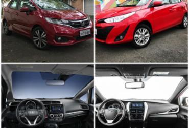 Honda Fit x Toyota Yaris | MOTOR, AUTOS, CARROS, HONDA, TOYOTA