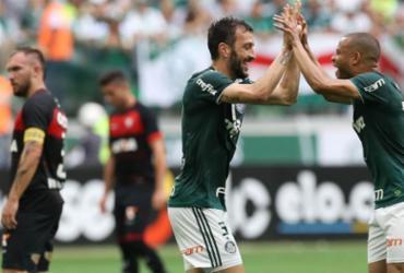 Vitória perde para o campeão Palmeiras na despedida da Série A   Cesar Greco   Divulgação   Palmeiras