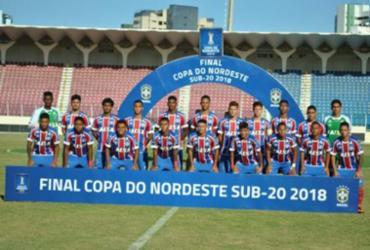 Bahia fica com o vice-campeonato do Nordestão Sub-20
