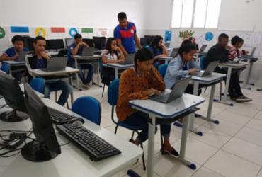 Estudantes de Firmino Alves realizam avaliações por meio de recursos tecnológicos