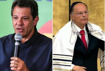 Justiça condena Haddad por atribuir 'fundamentalismo charlatão' a Edir Macedo | Nelson Almeida (AFP) e Divulgação