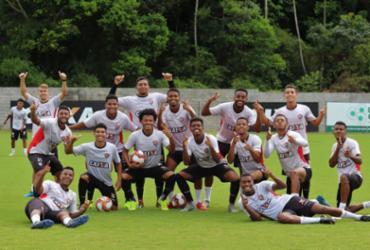 Jogadores do sub-23 do Vitória se apresentam já de olho em 2019