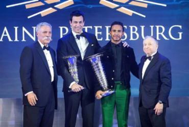 Após 5º título, Hamilton é premiado como Personalidade do Ano | Divulgação l FIA